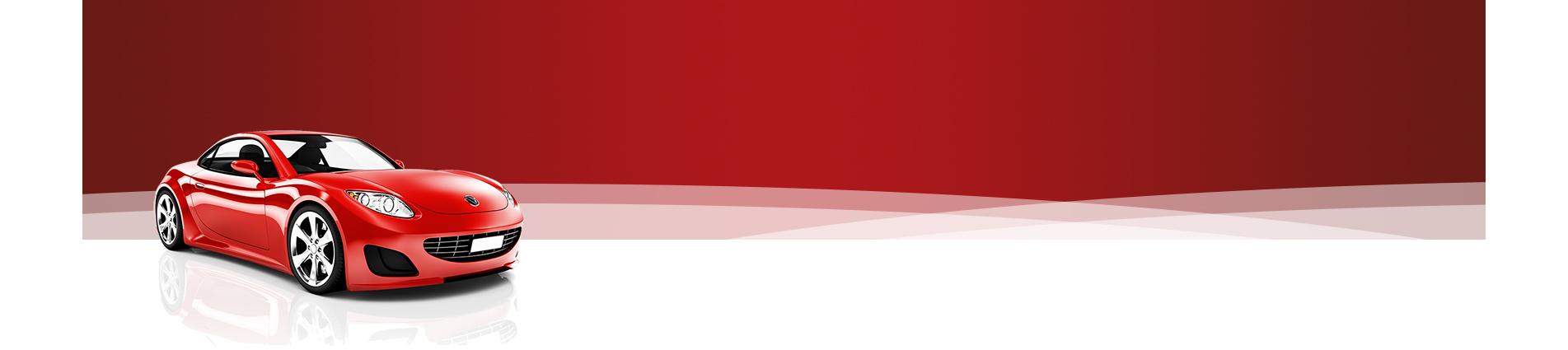 Banner Coche Rojo